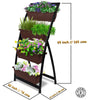Vertical Planter with Urban Orchard Pots for Flowers and Plants
