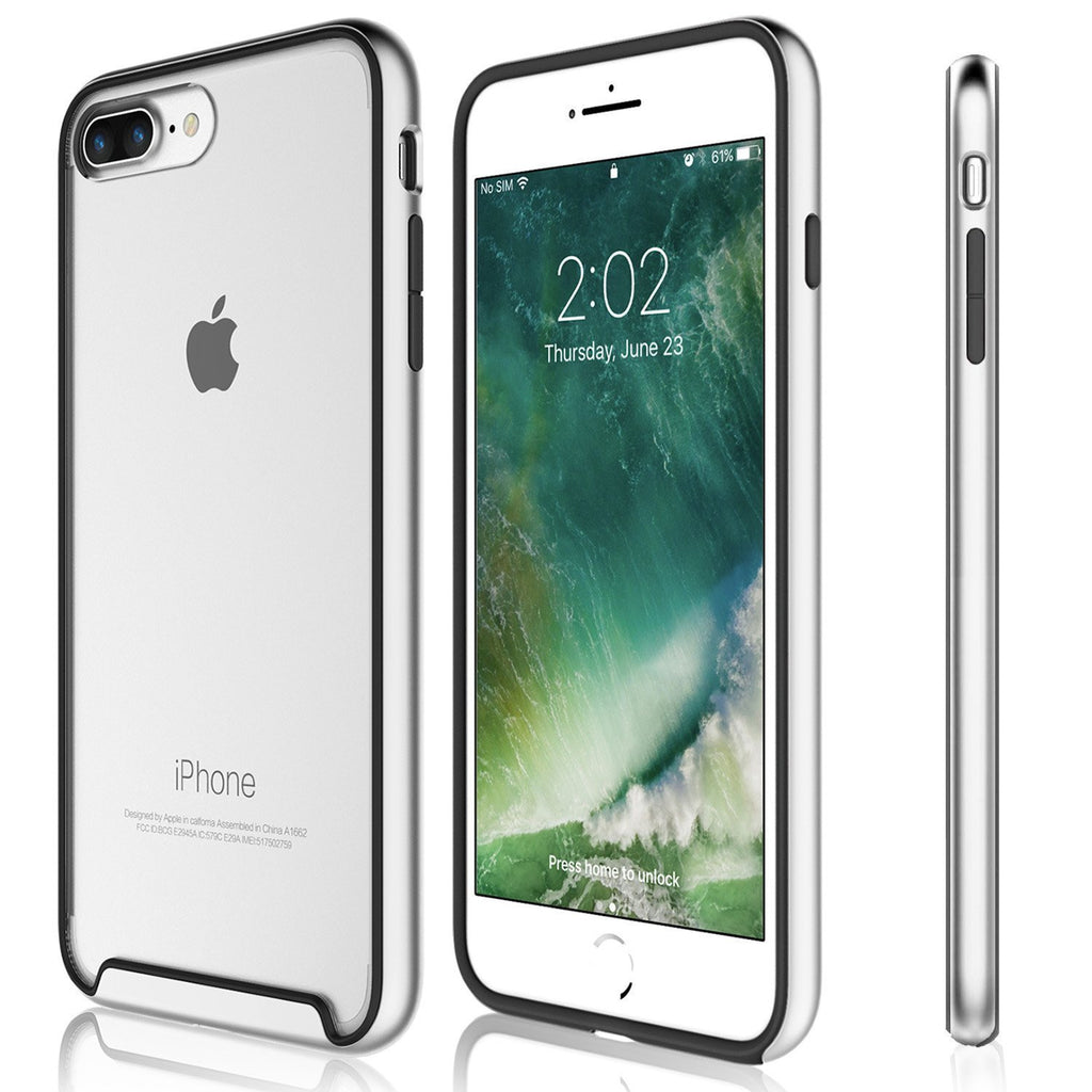 iPhone 8 Plus / iPhone 7 Plus Case - Essence Silver