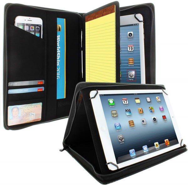 Universal Tablet Pad folio Zippered Case for 8.5'' up to 11'' tablets - Carbon Fiber - VC-universal-Carbon