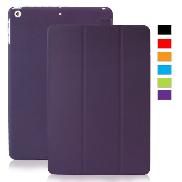 iPad Mini / iPad Mini Retina / iPad Mini 3 Dual Purple SEE-THRU Case
