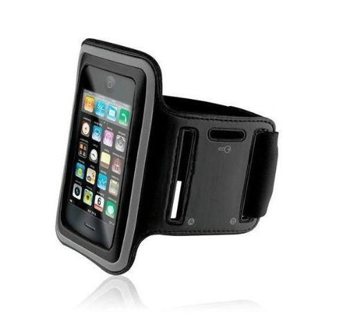 iPhone XS, X, 8, 7, 6/6S - Sports Armband Black