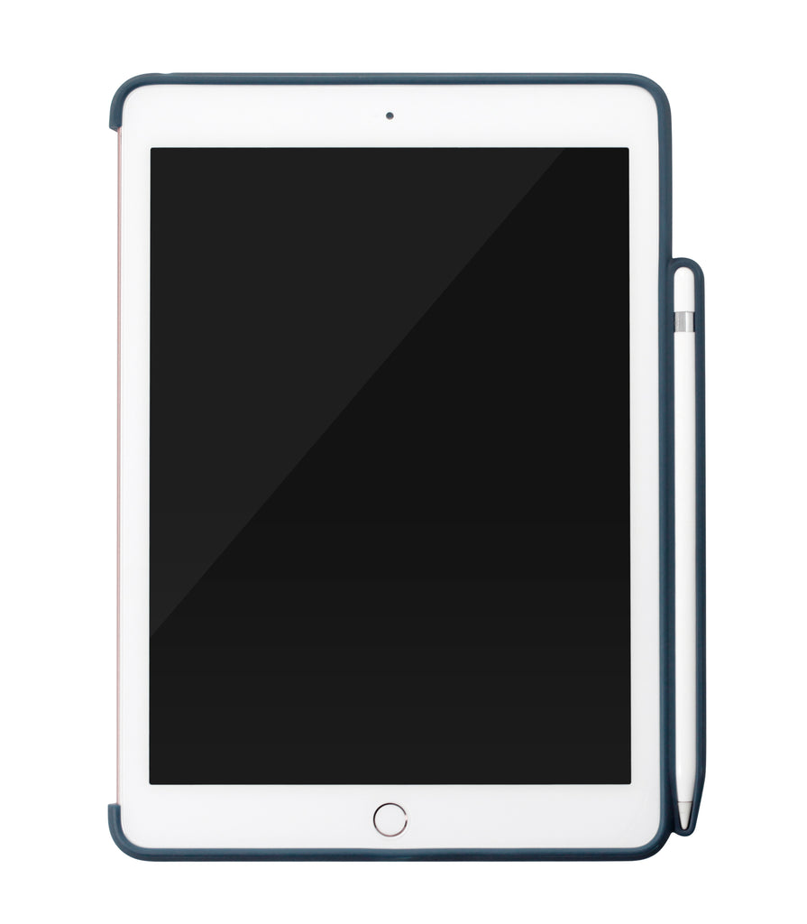 iPad 9.7 2018 - Back with PEN Holder - Blue