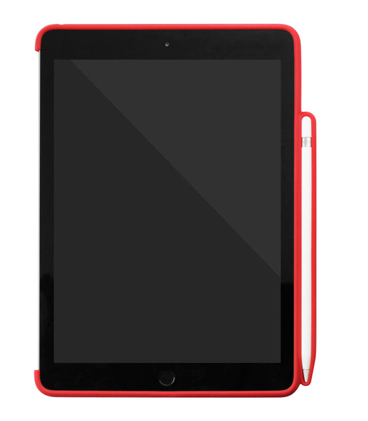 iPad 9.7 2018 - Back with PEN Holder - Red