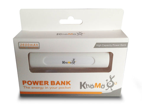 Power Bank with Suction Cup Stand - 2600 mAh