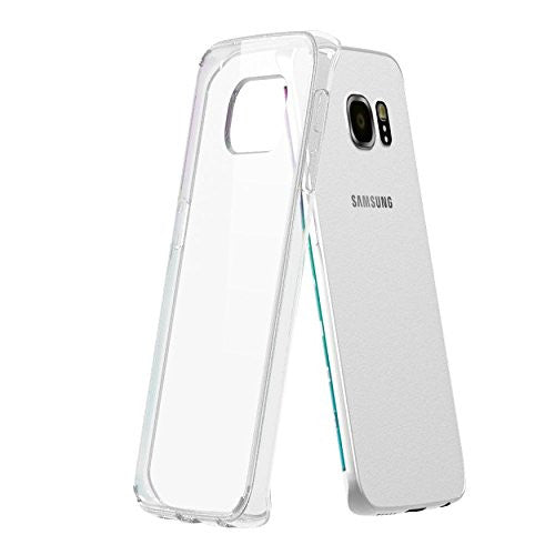 Samsung galaxy S6 EDGE Case - Hybrid Clear