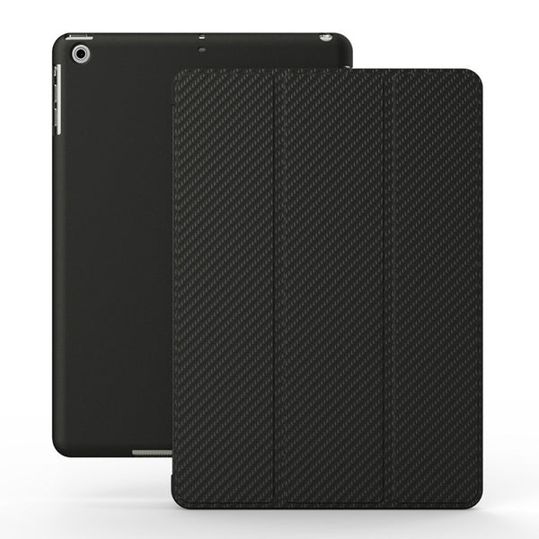 iPad 2/3/4/Retina Dual Carbon Fiber Black Case