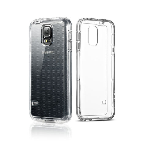 Samsung Galaxy S6 Case - Hybrid Transparent