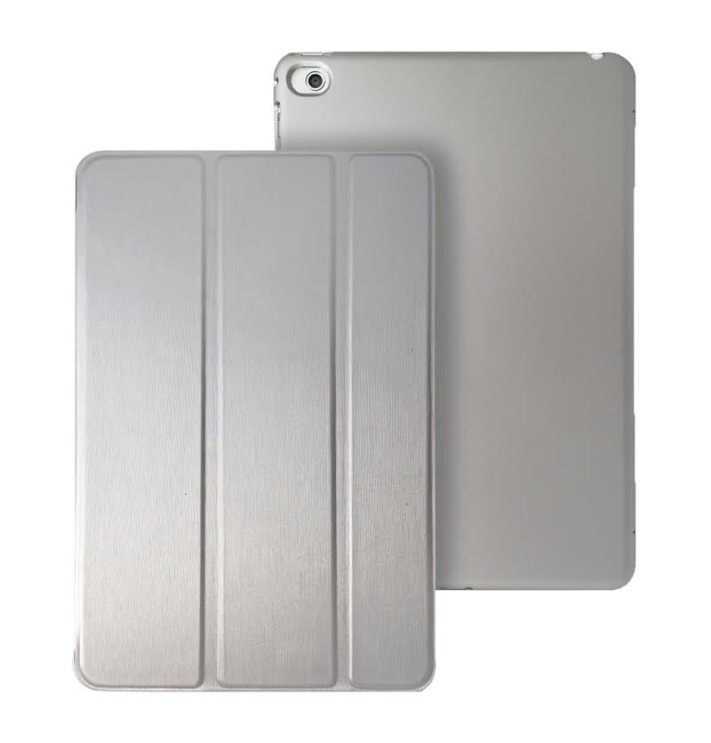 iPad Mini 4 Dual Silver Case