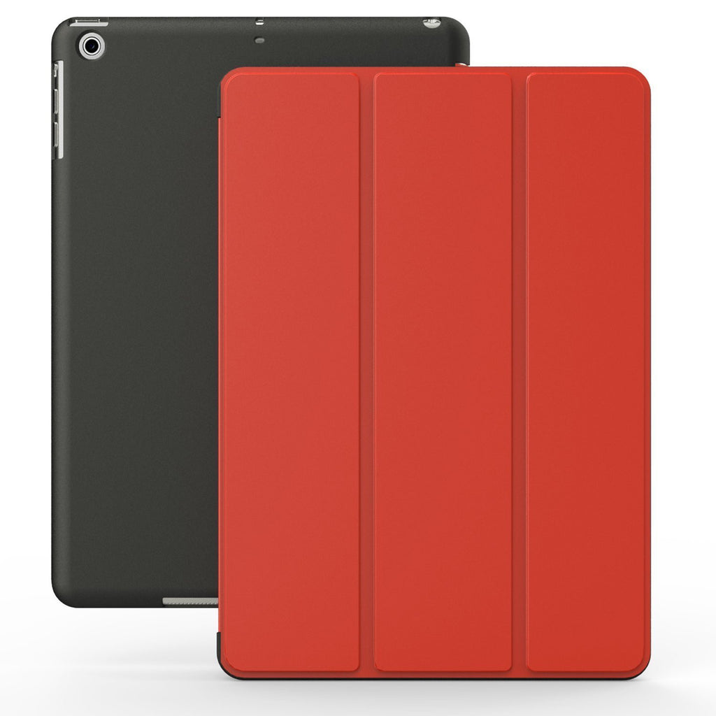 iPad 2/3/4/Retina Dual Red Black Case