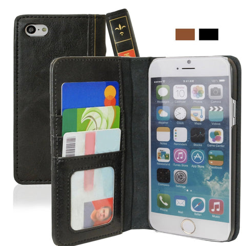 Leather Wallet Case for iPhone 6 PLUS (5.5