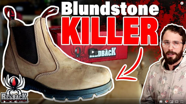 Why Redback Boots are the best!