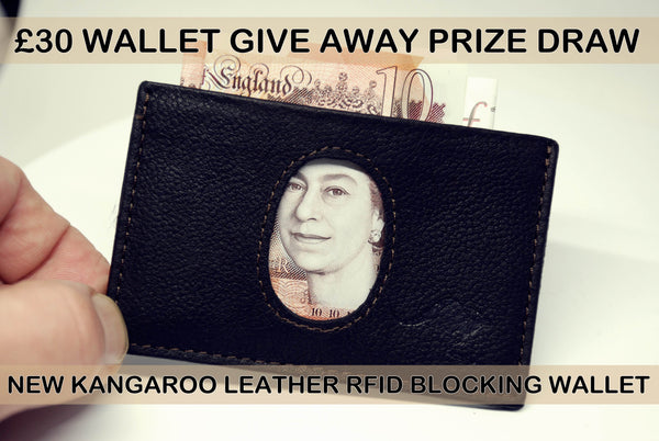 Kangaroo Wallet Prize Draw Competition - Three Prizes To Be Won