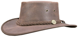 Barmah Hat Hats Oiled Brown  1024 Leather UK Bushgear