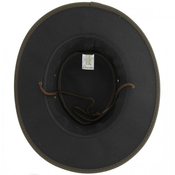 Barmah Hat | 1050 Oilskin Brown
