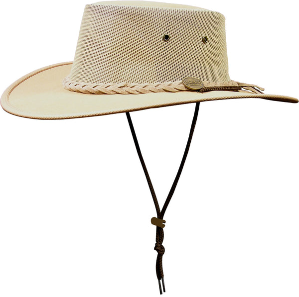 Barmah Hat Hats canvas cooler 1057 beige Bushgear UK sun