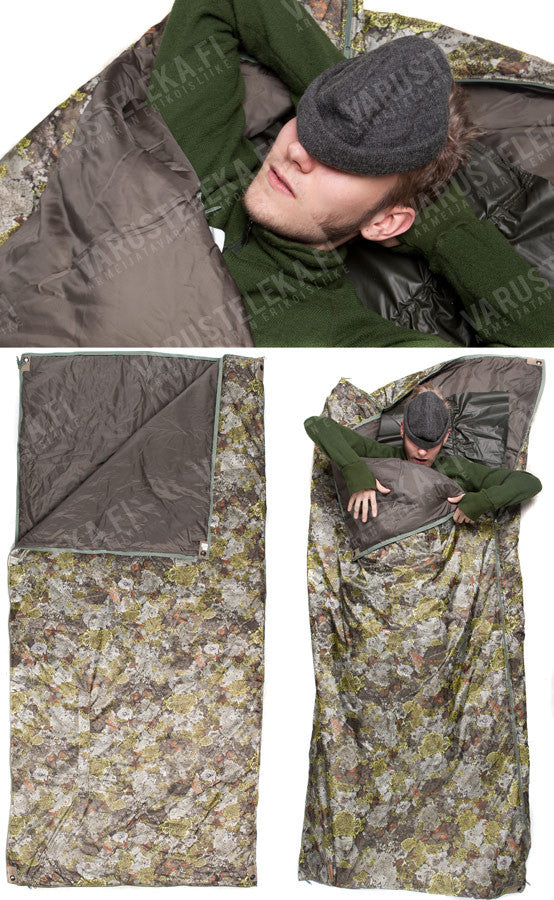 Jerven Bag Thermo Extreme Survival Bivi Poncho Bag Mountain Camouflage