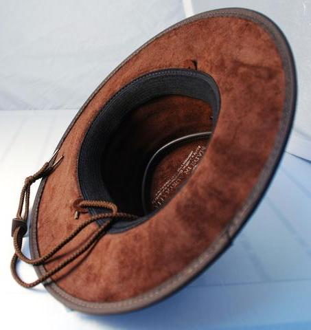 Barmah hat hats chin strap attachment point