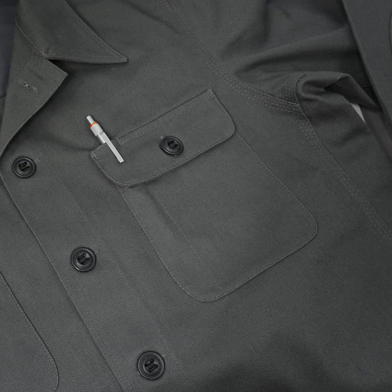 Prometheus Design Werx DRB Woodsman Werx Shirt - Motor Pool Grey