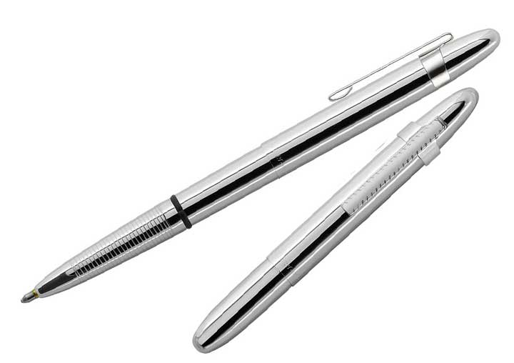Fisher Space Pen  - Original Chrome Bullet Space Pen with Chrome Clip