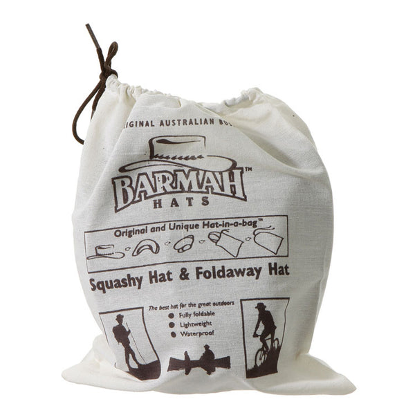 Barmah Hat calico bag