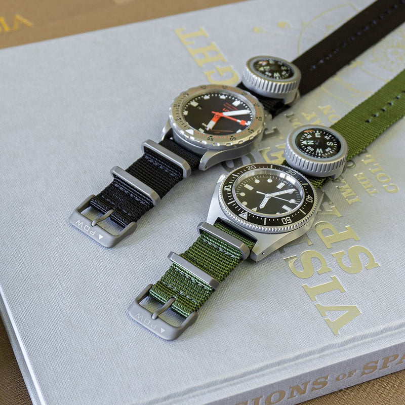 Prometheus Design Werx Ti-NATO Strap 20mm - Green