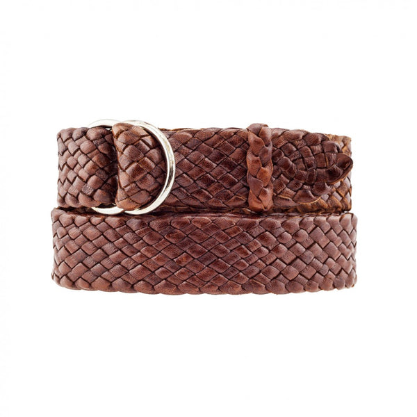 Barmah Kangaroo Leather Belt - Stockman - Brown