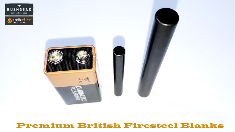 StrikeFire British Firesteel Blanks