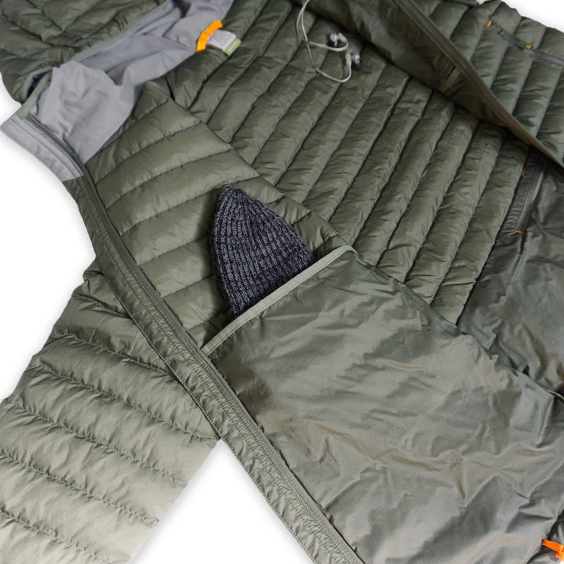 Tycho Down Hoodie - Transitional Field Green