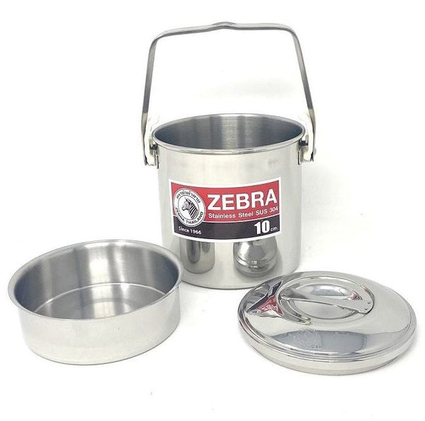 Zebra Thailand Loop Handle Pot Auto Lock 10cm Camping Cooking Bushcraft