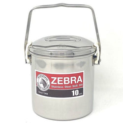 Zebra Loop Handle Pot Auto Lock 10cm