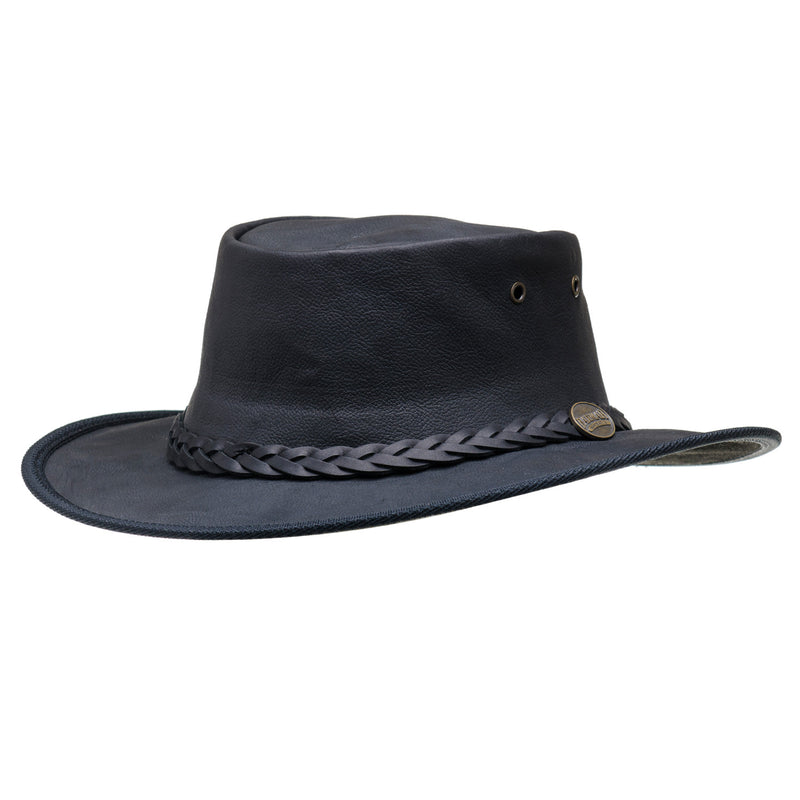 black barmah hat 1019 sundowner kangaroo leather