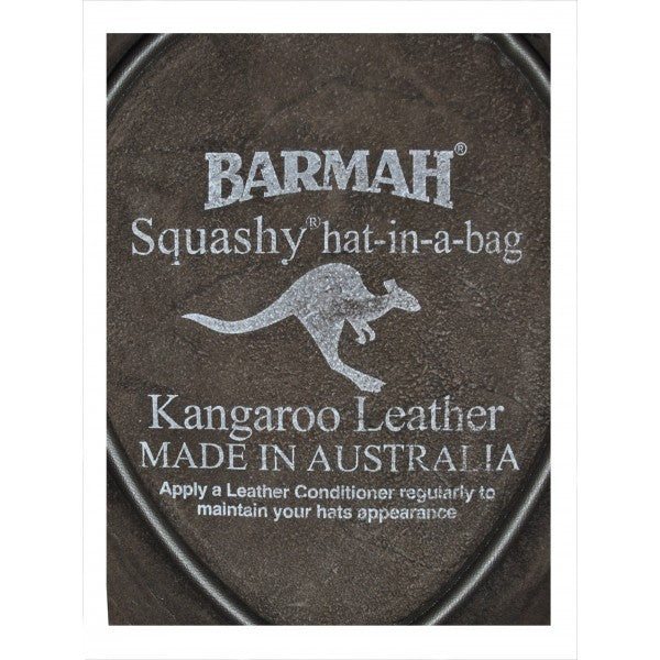Barmah Hat | 1018 Squashy Kangaroo Crackle Brown