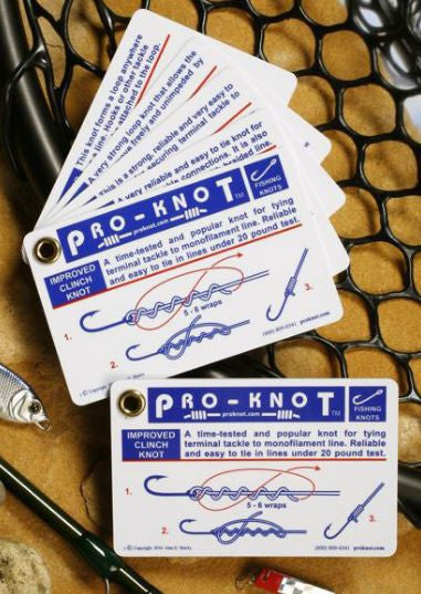 Pro-Knot Cards - Fishing Knots