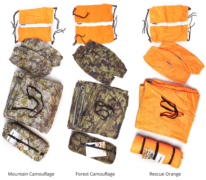 Jerven Bag - Thermo Hunter - Mountain Camouflage Pattern