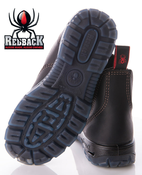 Redback Boots | Soft Toe Black UBBK