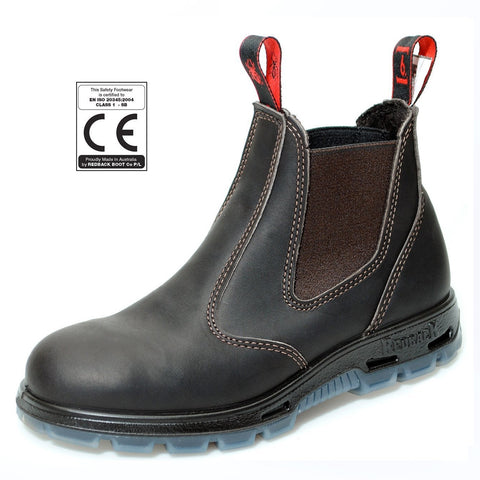Redback safety boots brown USBOK