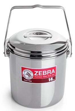 Zebra Head loop handle cooking camping pot 10cm