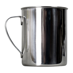 Zebra Stainless Steel Mug Bushcraft Camping Hiking