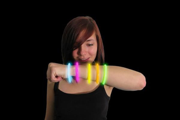 *New-pack of 12 Glow Bracelets