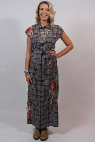 Anise Western Maxi Dress