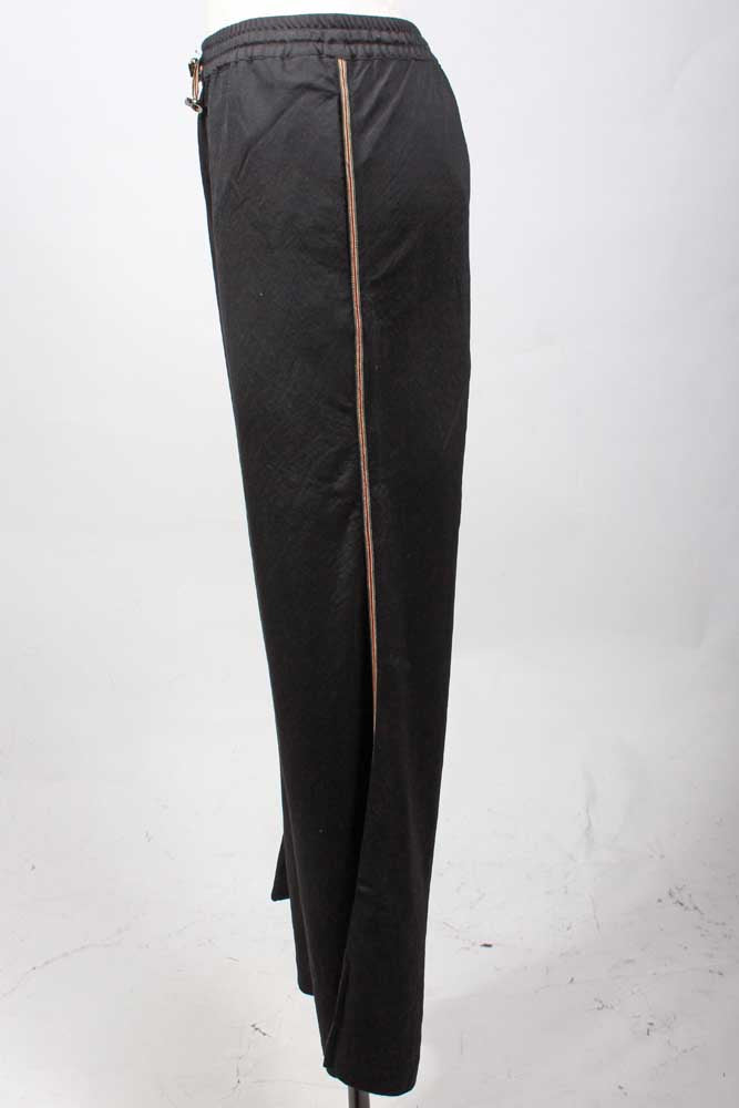 Black Palace Track Pant Side View