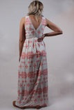 Cross Stitch Maxi Dress