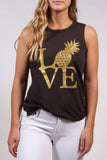 Pineapple Love Muscle Tank