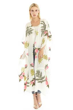 One and Only Floral Kimono By Aratta Full View