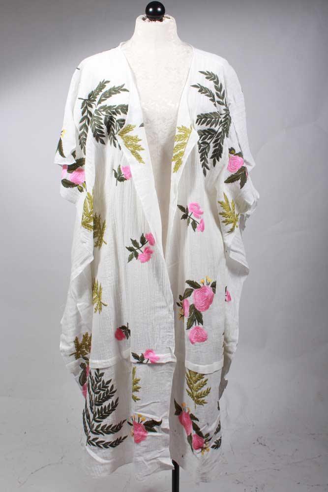 One and Only Floral Kimono By Aratta Front View