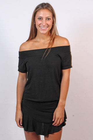 Jordy Off-Shoulder Romper