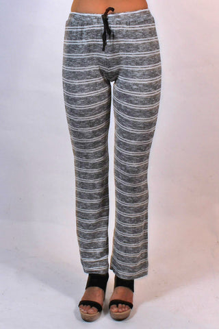 Striped Hacci Pant