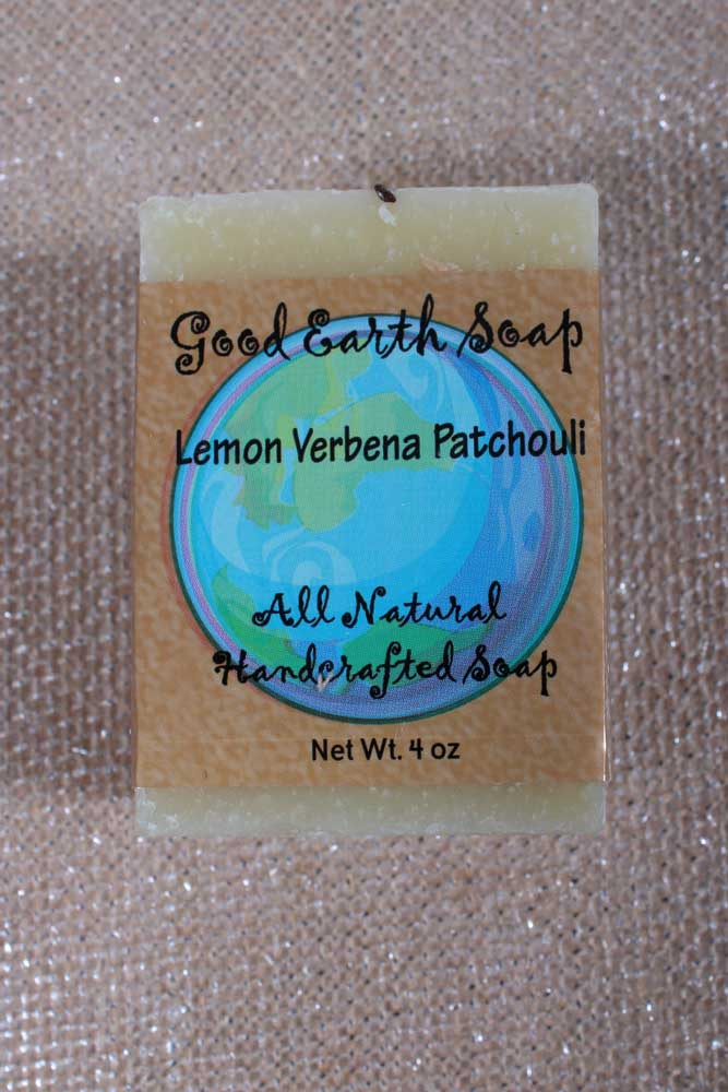 Lemon Verbena Patchouli Soap