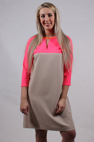 Lydia Colorblock Dress