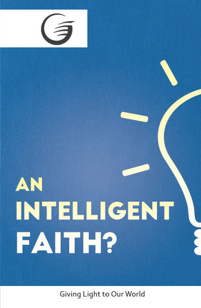 GLOW Tracts Pack - An Intelligent Faith? (English)